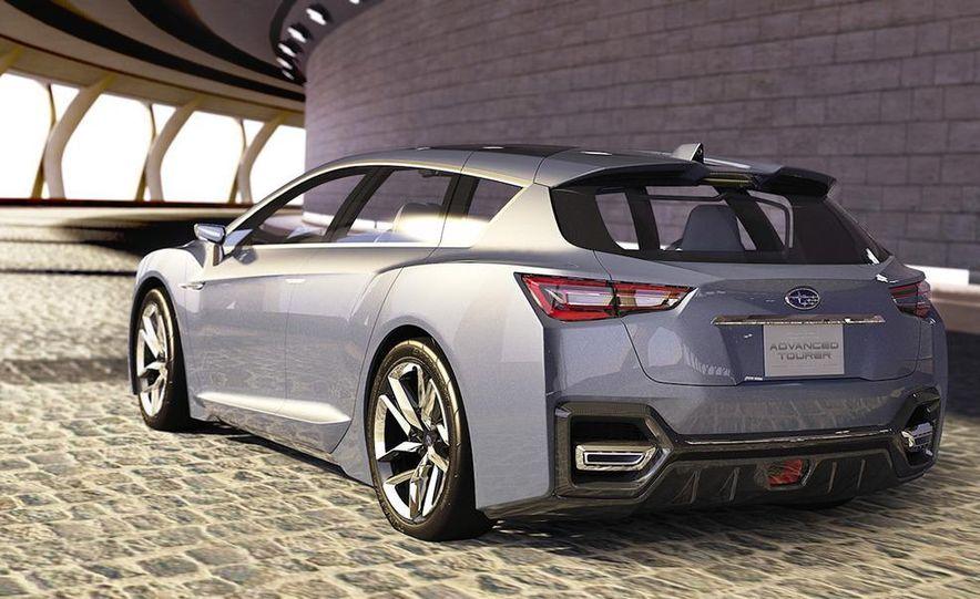 Subaru Advanced Tourer concept - Slide 21