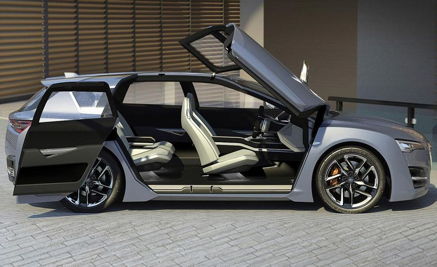 Subaru Advanced Tourer concept - Slide 22