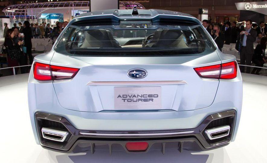 Subaru Advanced Tourer concept - Slide 13