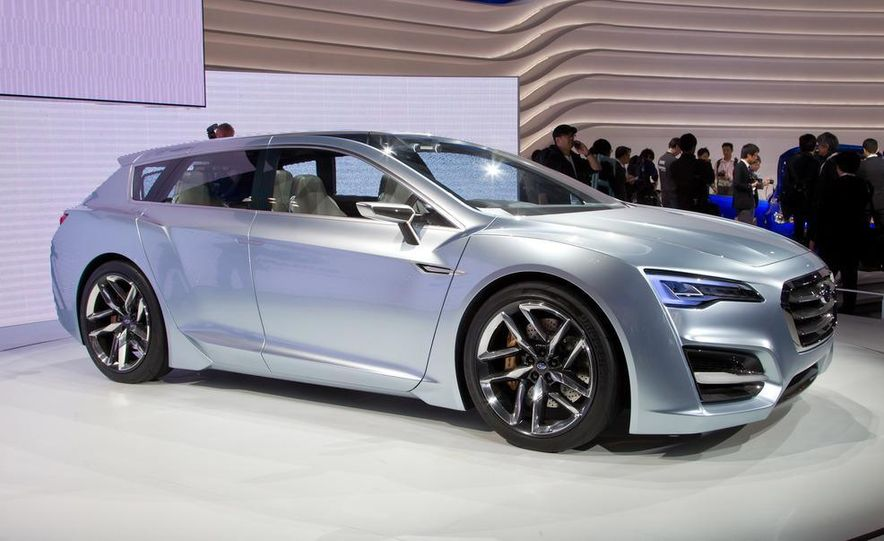 Subaru Advanced Tourer concept - Slide 16