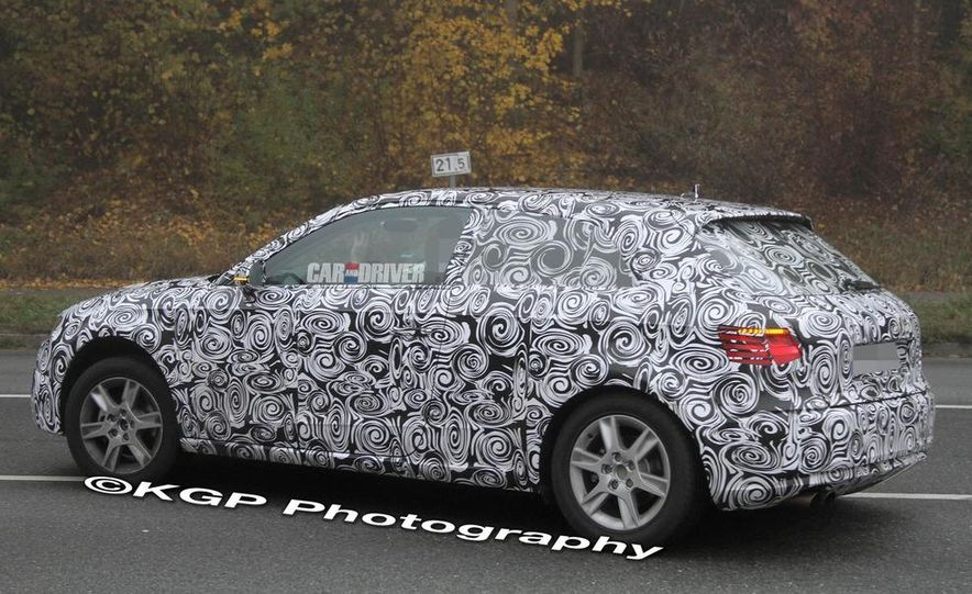 2013 Audi A3 (spy photo) - Slide 1