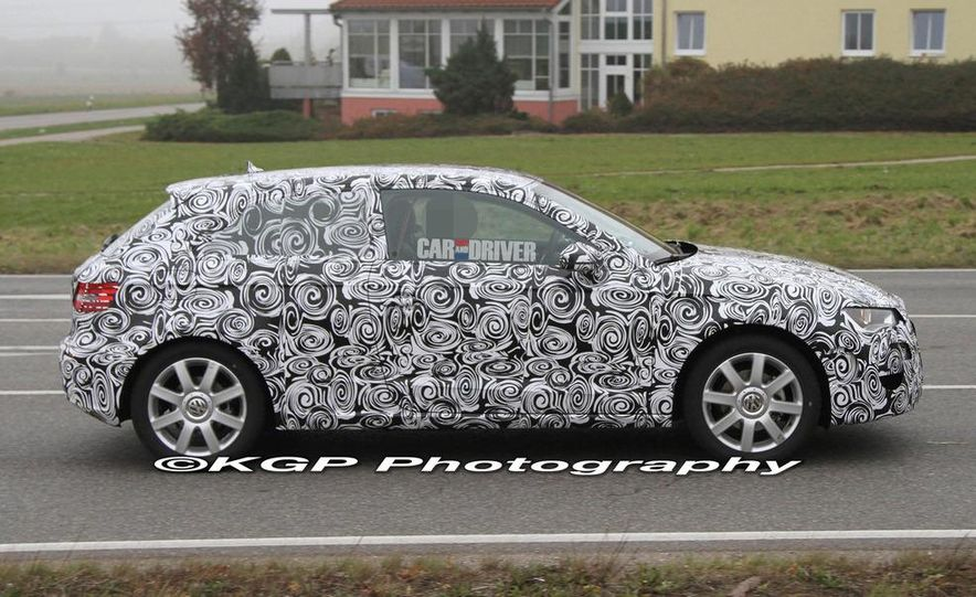 2013 Audi A3 (spy photo) - Slide 3