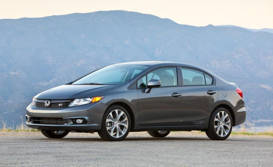 2012 Honda Civic Si sedan - Slide 6