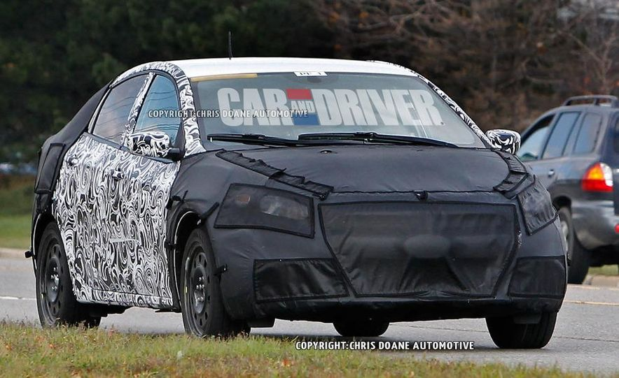 2013 Dodge small car (spy photo) - Slide 2