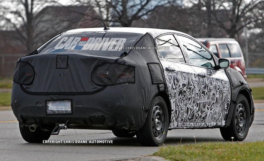 2013 Dodge small car (spy photo) - Slide 3
