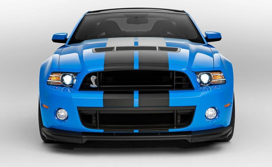 2013 Ford Mustang Shelby GT500 - Slide 23