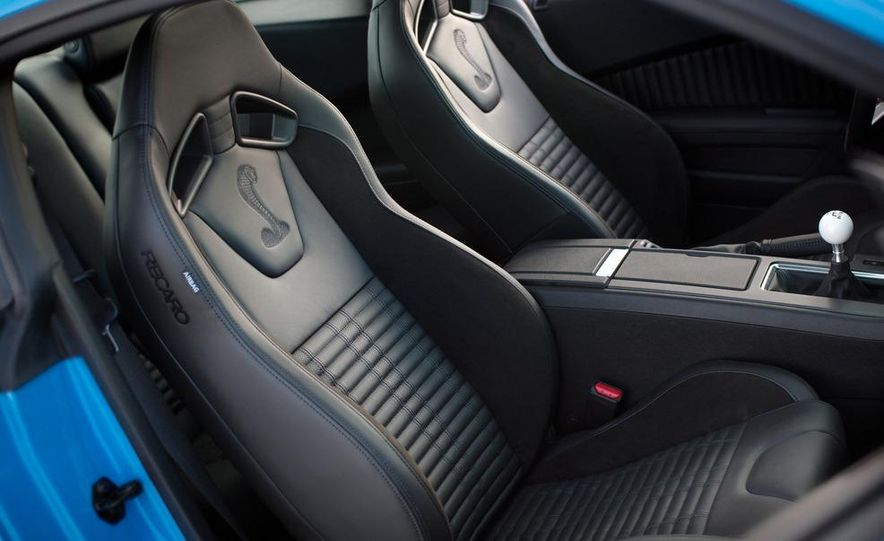 2013 Ford Mustang Shelby GT500 - Slide 25
