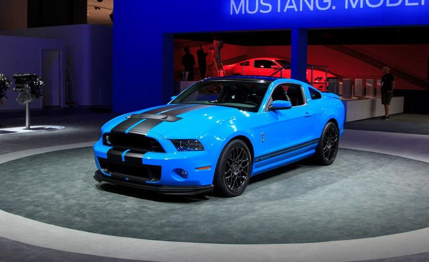 2013 Ford Mustang Shelby GT500 - Slide 8