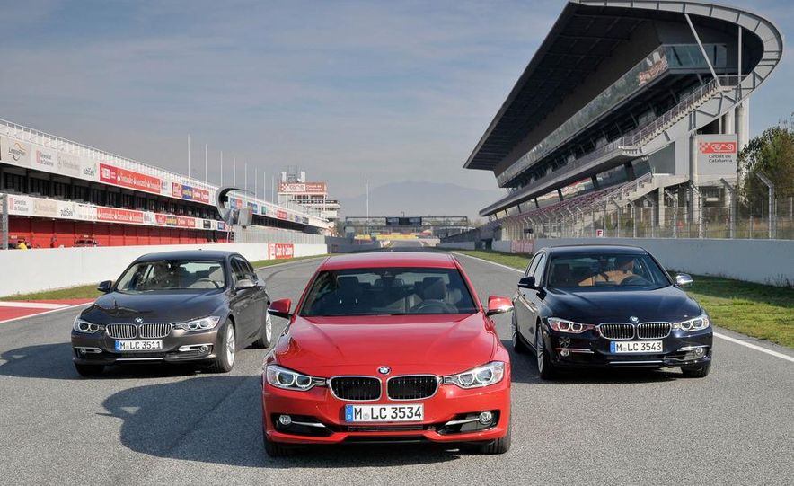 2012 BMW 320d Modern sedan, 328i Luxury sedan, and 328i Sport Line sedan - Slide 2