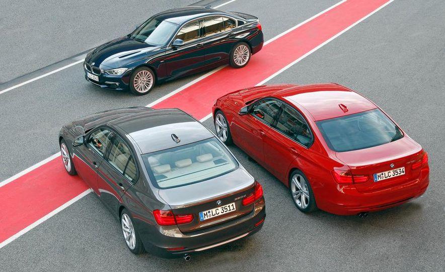 2012 BMW 320d Modern sedan, 328i Luxury sedan, and 328i Sport Line sedan - Slide 7