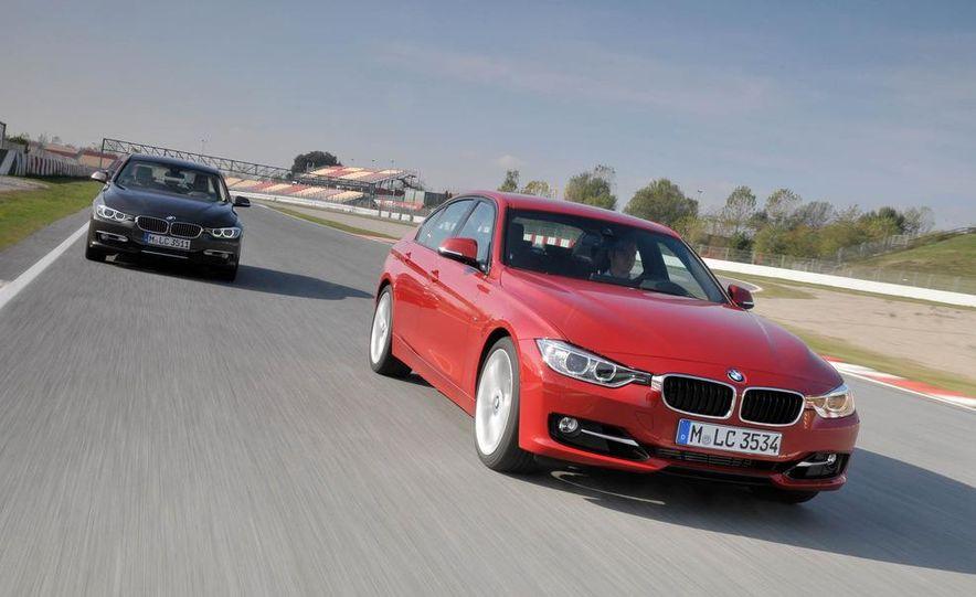 2012 BMW 320d Modern sedan, 328i Luxury sedan, and 328i Sport Line sedan - Slide 8