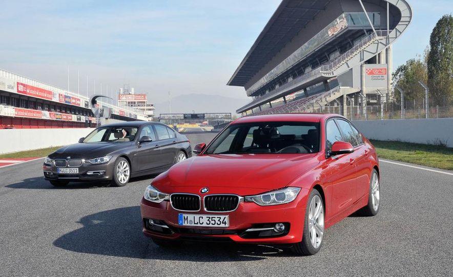 2012 BMW 320d Modern sedan, 328i Luxury sedan, and 328i Sport Line sedan - Slide 9