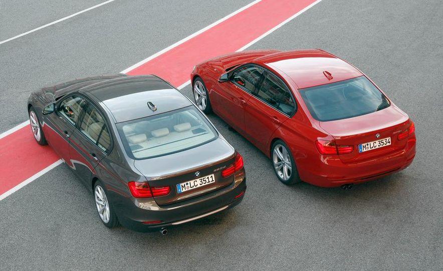 2012 BMW 320d Modern sedan, 328i Luxury sedan, and 328i Sport Line sedan - Slide 10