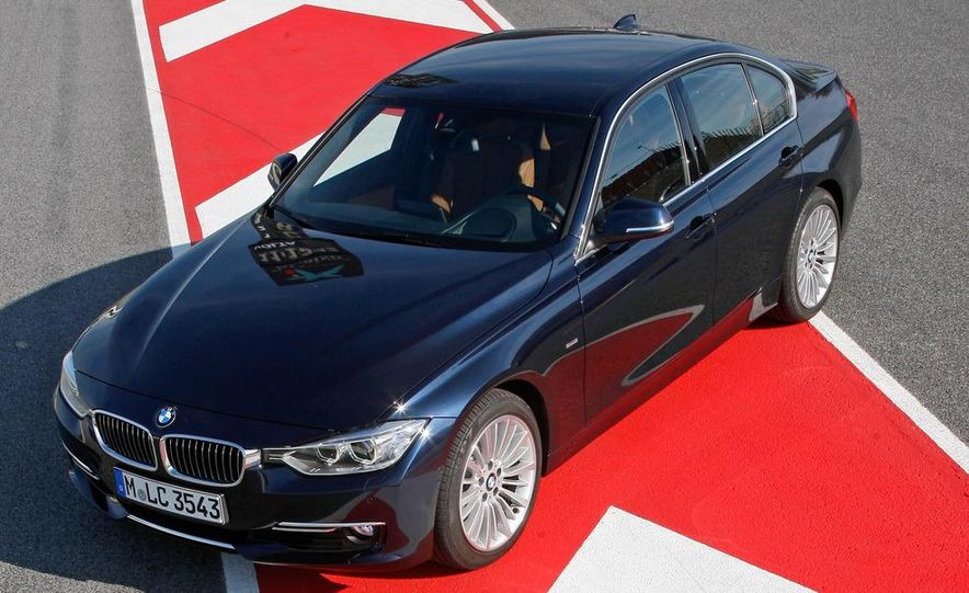 2012 BMW 320d Modern sedan, 328i Luxury sedan, and 328i Sport Line sedan - Slide 12