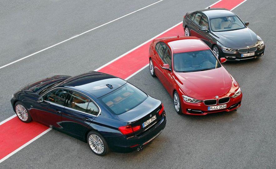 2012 BMW 320d Modern sedan, 328i Luxury sedan, and 328i Sport Line sedan - Slide 5