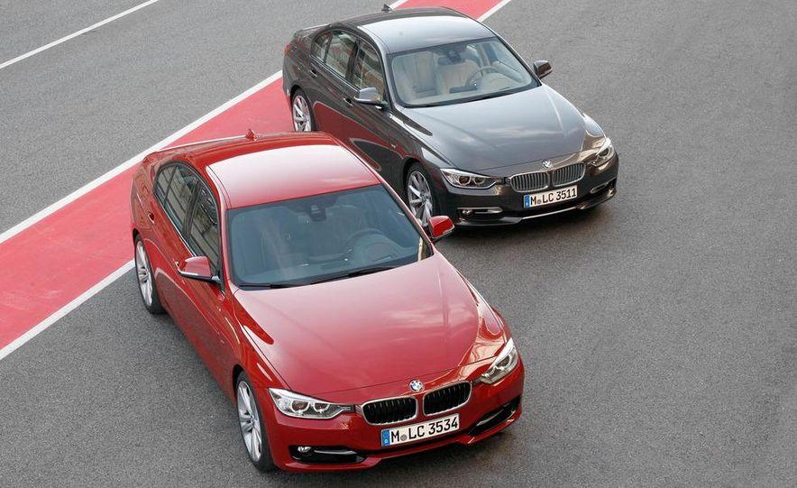 2012 BMW 320d Modern sedan, 328i Luxury sedan, and 328i Sport Line sedan - Slide 11