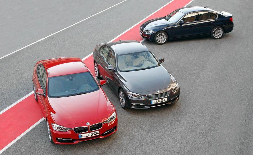2012 BMW 320d Modern sedan, 328i Luxury sedan, and 328i Sport Line sedan - Slide 6