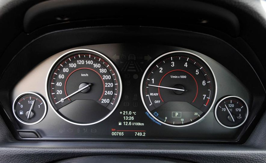2012 BMW 320d Modern sedan, 328i Luxury sedan, and 328i Sport Line sedan - Slide 85