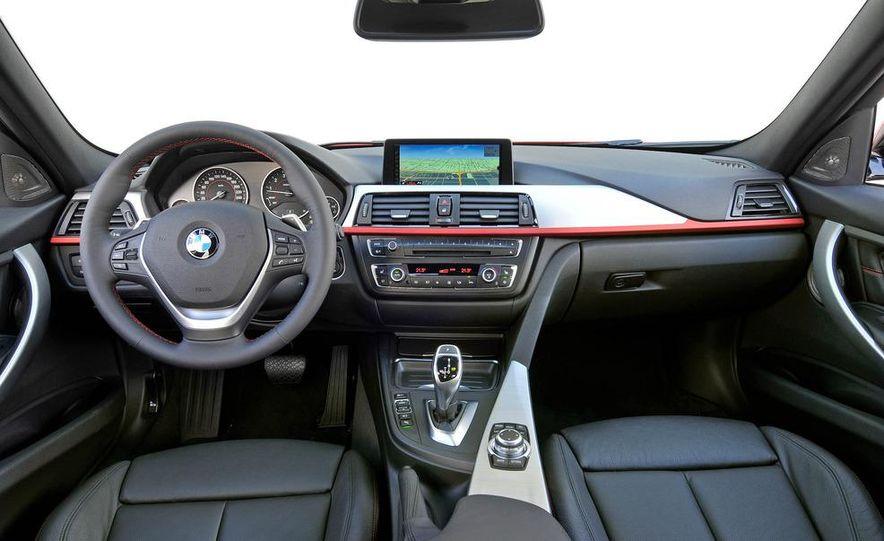 2012 BMW 320d Modern sedan, 328i Luxury sedan, and 328i Sport Line sedan - Slide 80