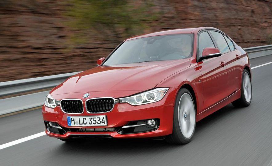 2012 BMW 320d Modern sedan, 328i Luxury sedan, and 328i Sport Line sedan - Slide 18