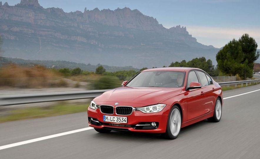 2012 BMW 320d Modern sedan, 328i Luxury sedan, and 328i Sport Line sedan - Slide 19