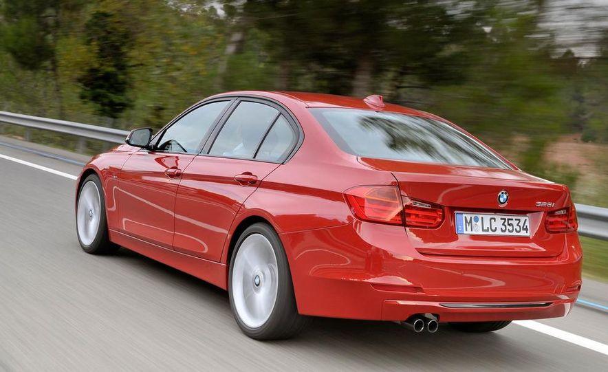 2012 BMW 320d Modern sedan, 328i Luxury sedan, and 328i Sport Line sedan - Slide 20