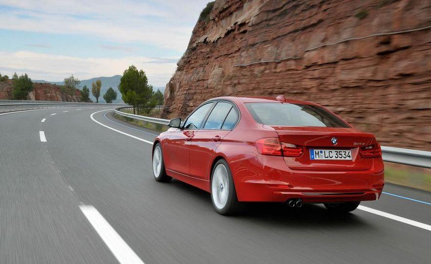 2012 BMW 320d Modern sedan, 328i Luxury sedan, and 328i Sport Line sedan - Slide 21