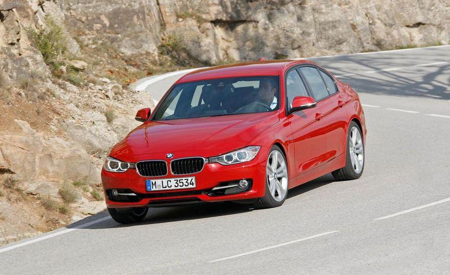 2012 BMW 320d Modern sedan, 328i Luxury sedan, and 328i Sport Line sedan - Slide 23