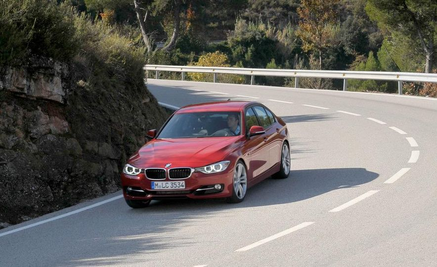 2012 BMW 320d Modern sedan, 328i Luxury sedan, and 328i Sport Line sedan - Slide 24