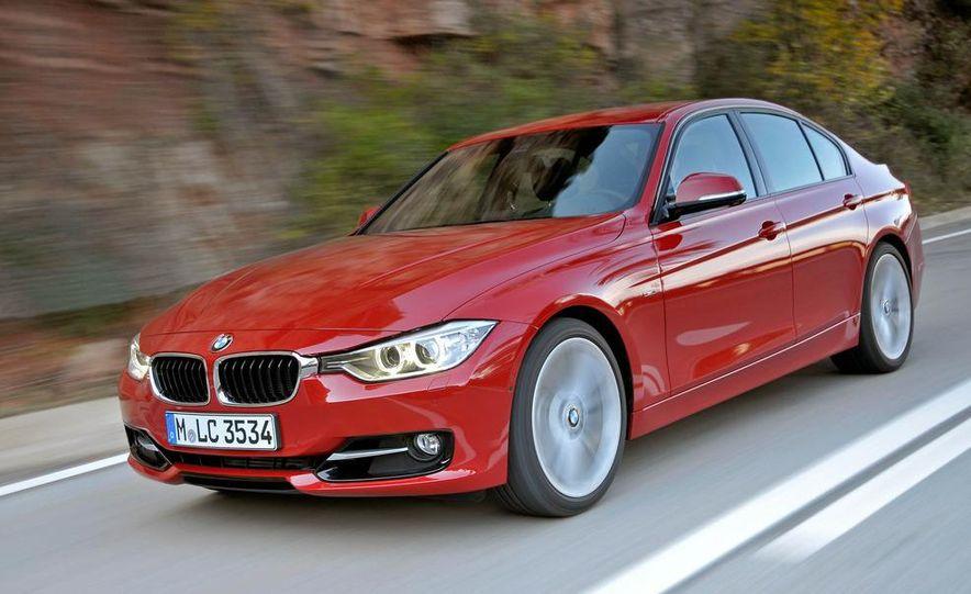 2012 BMW 320d Modern sedan, 328i Luxury sedan, and 328i Sport Line sedan - Slide 25