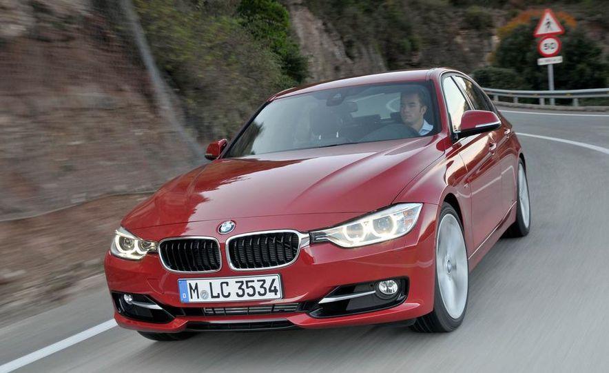 2012 BMW 320d Modern sedan, 328i Luxury sedan, and 328i Sport Line sedan - Slide 26