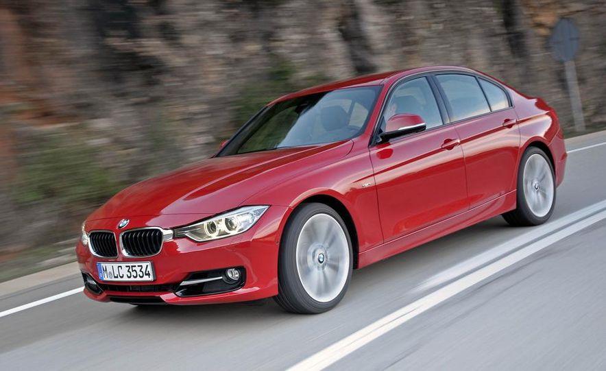 2012 BMW 320d Modern sedan, 328i Luxury sedan, and 328i Sport Line sedan - Slide 27