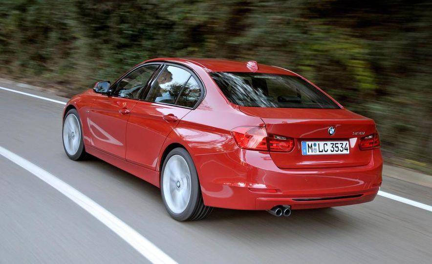 2012 BMW 320d Modern sedan, 328i Luxury sedan, and 328i Sport Line sedan - Slide 28