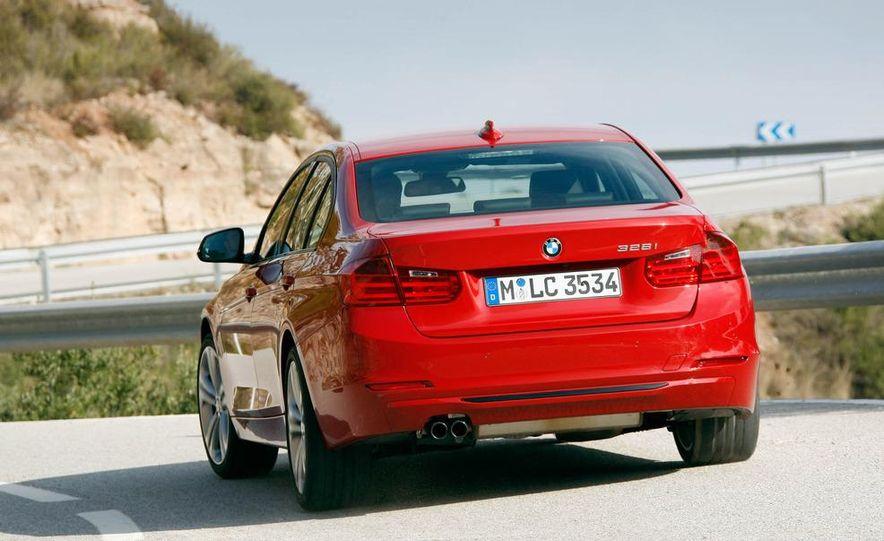2012 BMW 320d Modern sedan, 328i Luxury sedan, and 328i Sport Line sedan - Slide 29