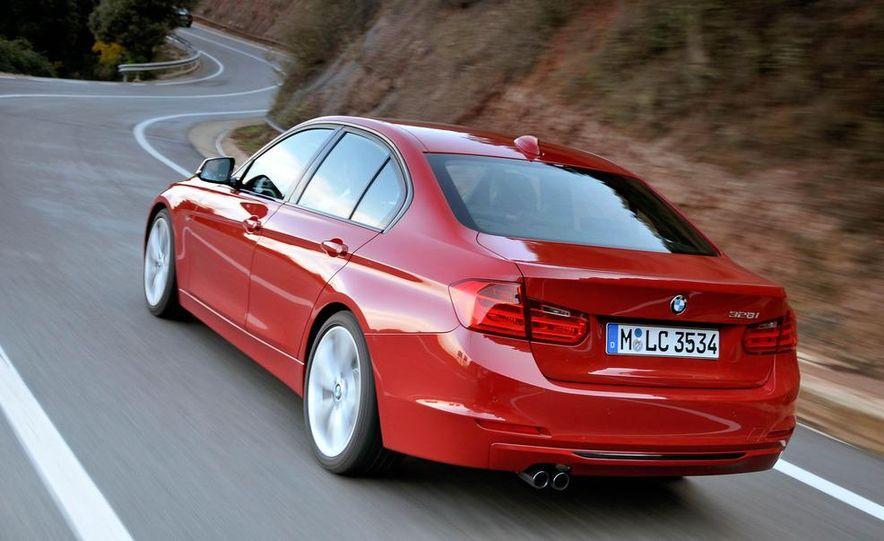 2012 BMW 320d Modern sedan, 328i Luxury sedan, and 328i Sport Line sedan - Slide 30