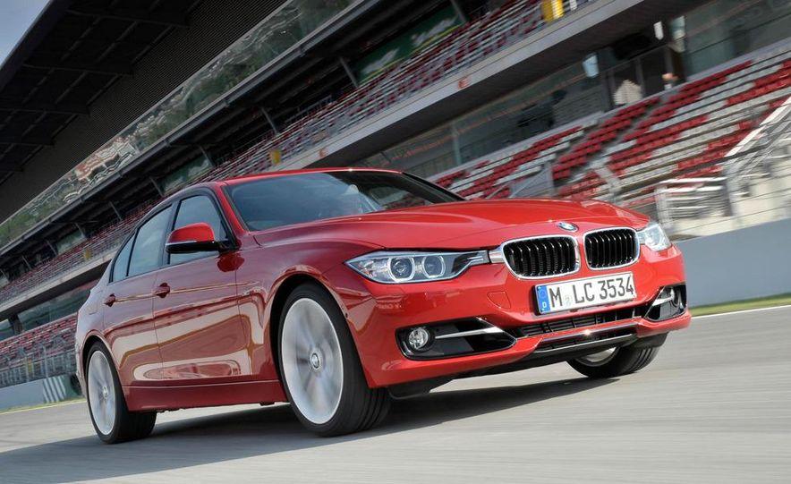2012 BMW 320d Modern sedan, 328i Luxury sedan, and 328i Sport Line sedan - Slide 34