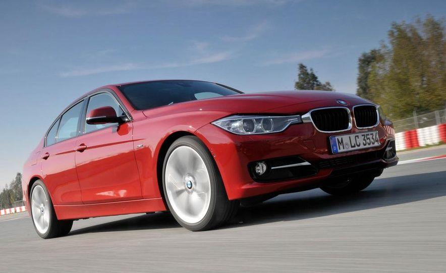 2012 BMW 320d Modern sedan, 328i Luxury sedan, and 328i Sport Line sedan - Slide 35