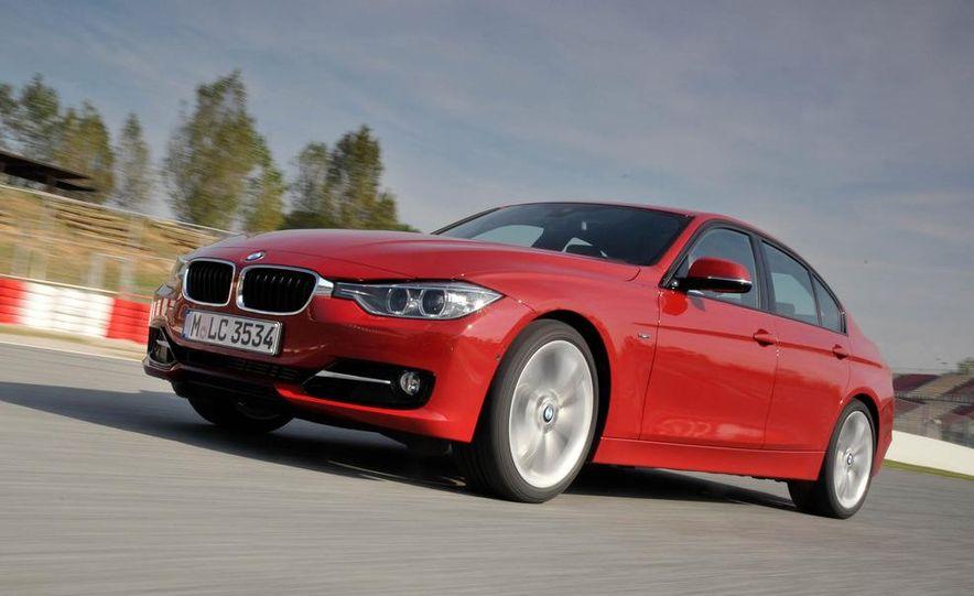 2012 BMW 320d Modern sedan, 328i Luxury sedan, and 328i Sport Line sedan - Slide 36