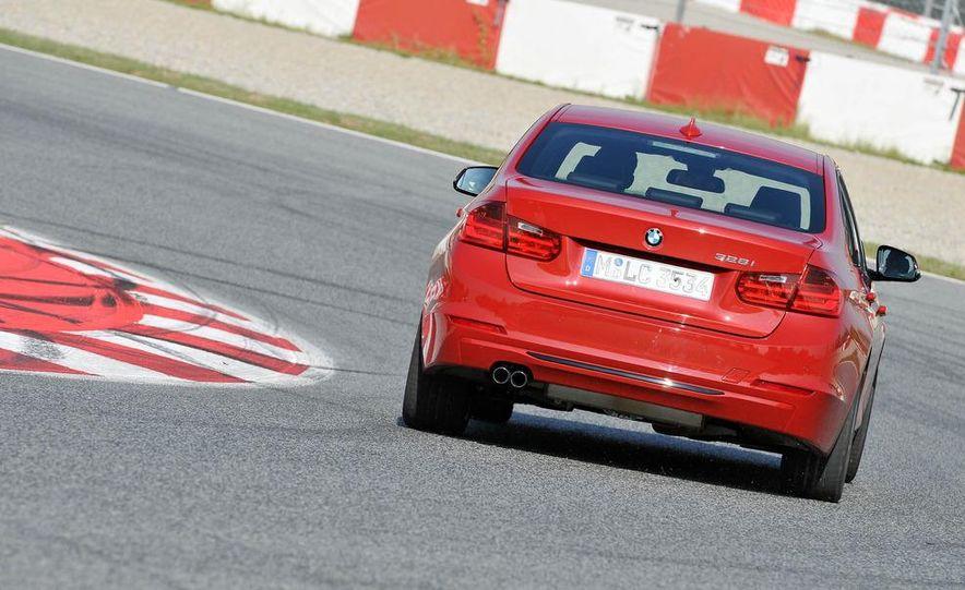 2012 BMW 320d Modern sedan, 328i Luxury sedan, and 328i Sport Line sedan - Slide 37