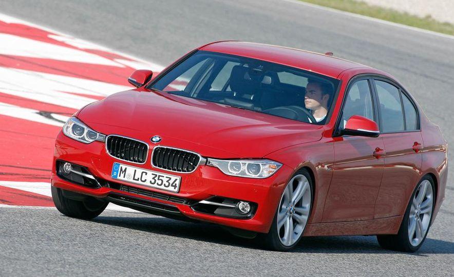 2012 BMW 320d Modern sedan, 328i Luxury sedan, and 328i Sport Line sedan - Slide 38