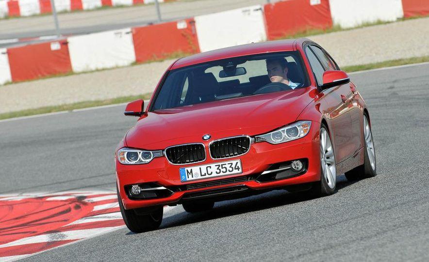 2012 BMW 320d Modern sedan, 328i Luxury sedan, and 328i Sport Line sedan - Slide 40