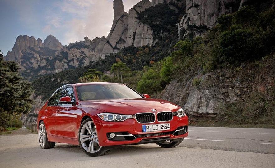2012 BMW 320d Modern sedan, 328i Luxury sedan, and 328i Sport Line sedan - Slide 41