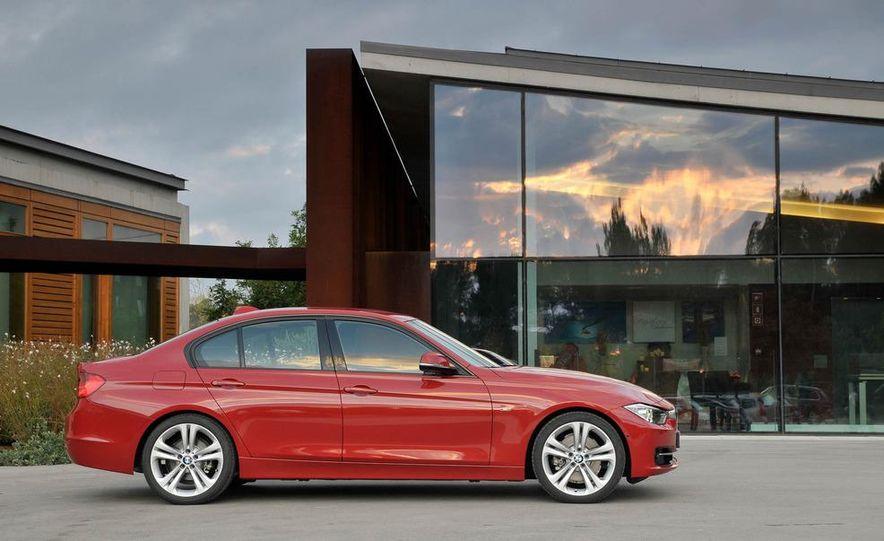 2012 BMW 320d Modern sedan, 328i Luxury sedan, and 328i Sport Line sedan - Slide 42