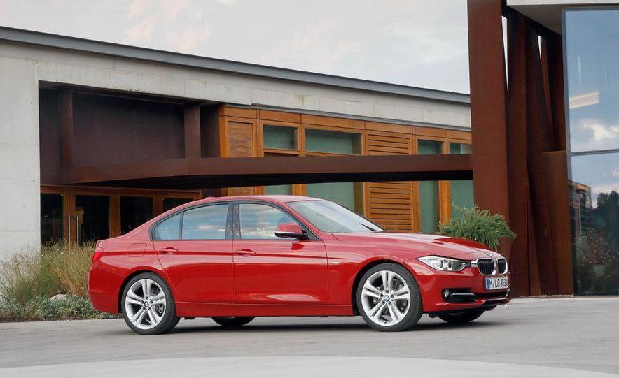 2012 BMW 320d Modern sedan, 328i Luxury sedan, and 328i Sport Line sedan - Slide 43
