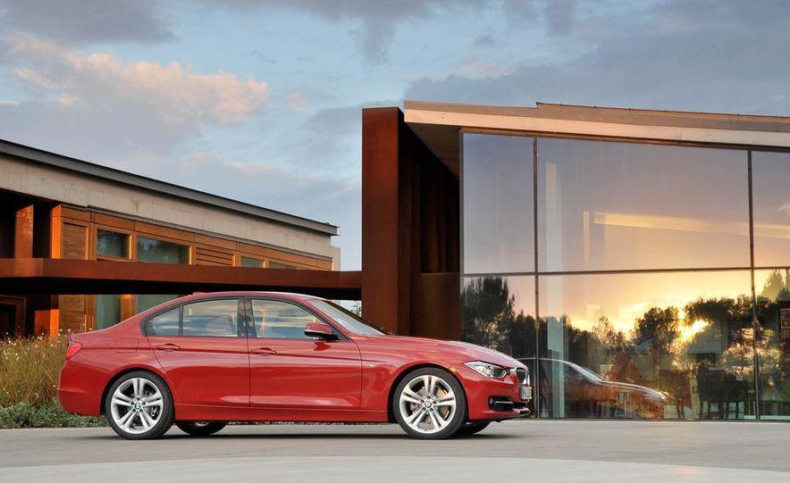 2012 BMW 320d Modern sedan, 328i Luxury sedan, and 328i Sport Line sedan - Slide 44