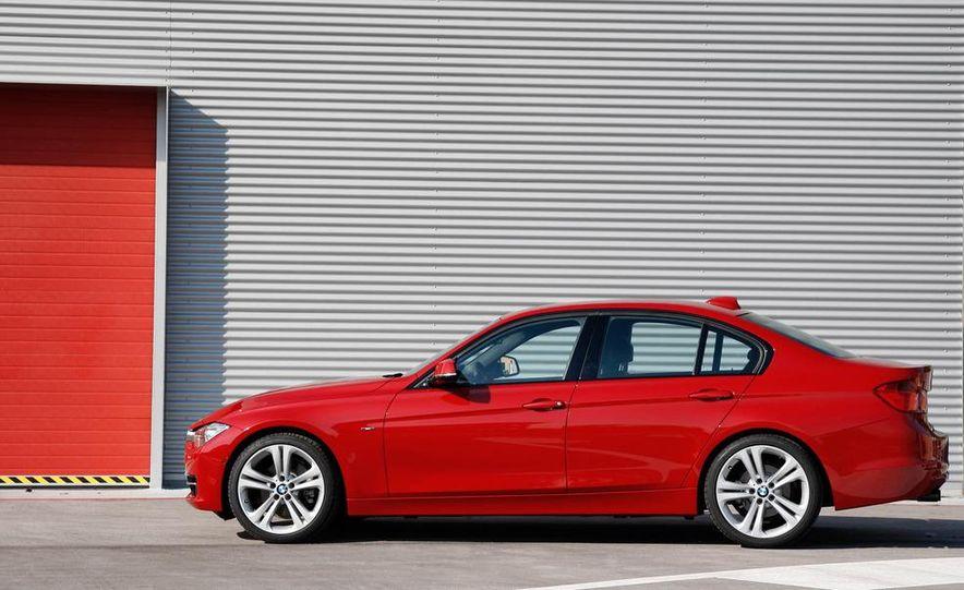 2012 BMW 320d Modern sedan, 328i Luxury sedan, and 328i Sport Line sedan - Slide 45