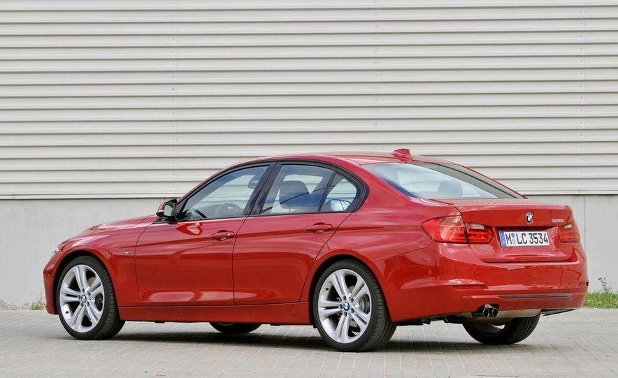 2012 BMW 320d Modern sedan, 328i Luxury sedan, and 328i Sport Line sedan - Slide 48
