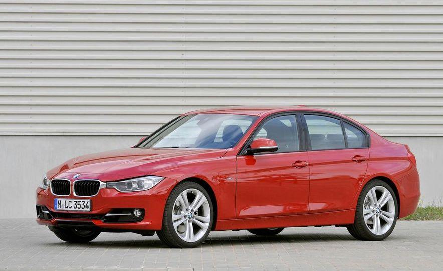 2012 BMW 320d Modern sedan, 328i Luxury sedan, and 328i Sport Line sedan - Slide 49