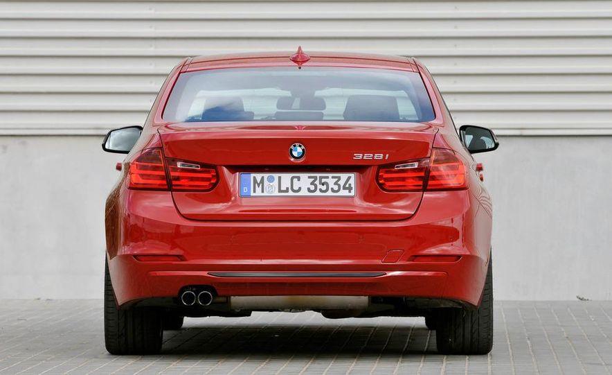 2012 BMW 320d Modern sedan, 328i Luxury sedan, and 328i Sport Line sedan - Slide 50