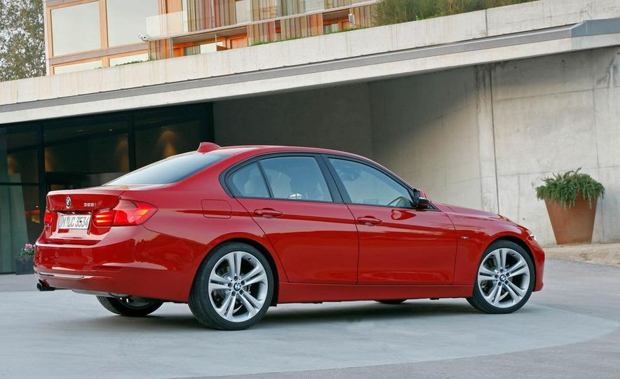 2012 BMW 320d Modern sedan, 328i Luxury sedan, and 328i Sport Line sedan - Slide 52